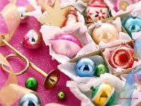 Christmas Candies Wallpaper